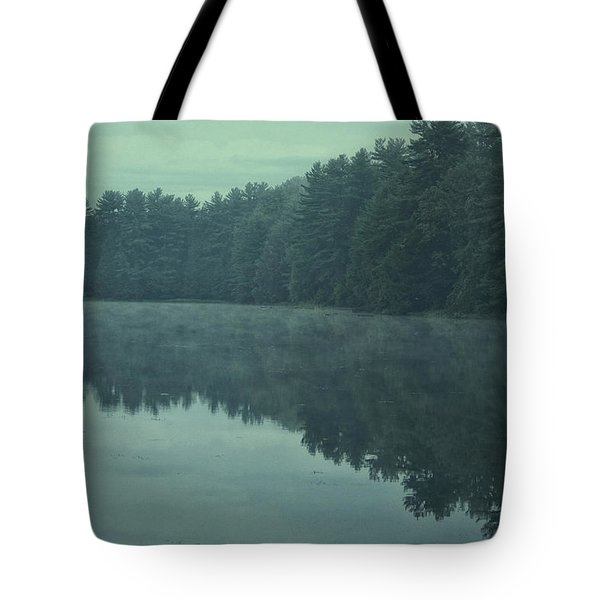 September Reflection Tote Bag by Karol Livote