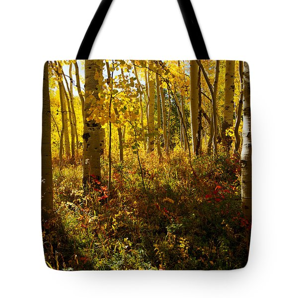 September Scene Tote Bag
