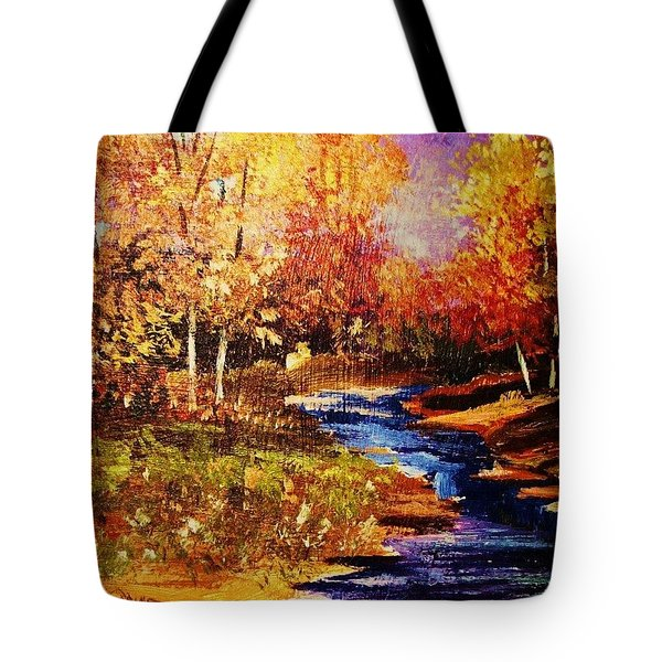 The Brilliance Of Autumn Tote Bag