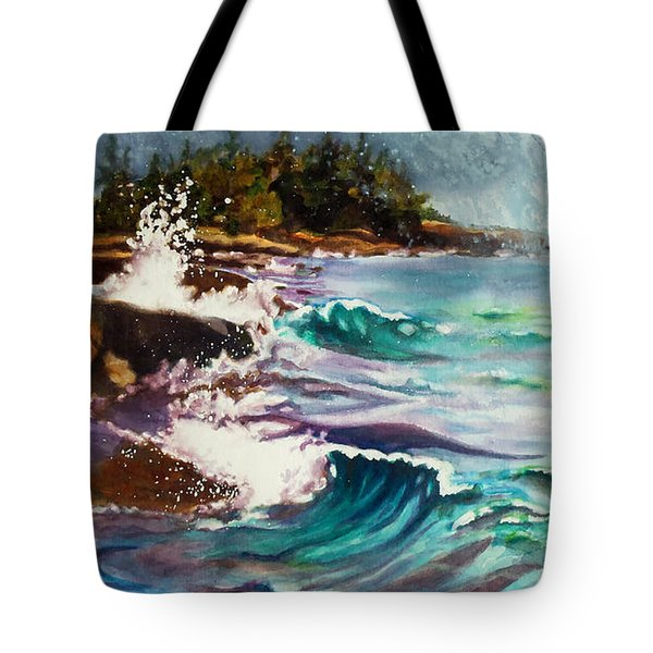 September Storm Lake Superior Tote Bag
