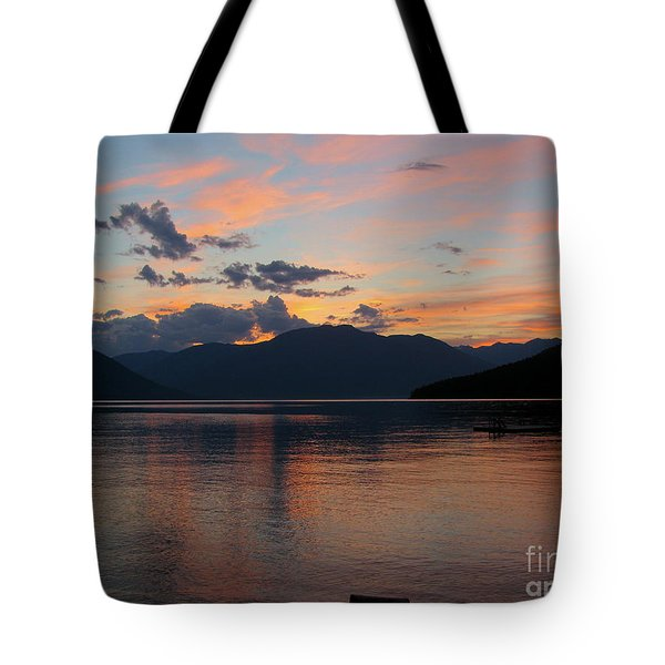 September Sunset Tote Bag