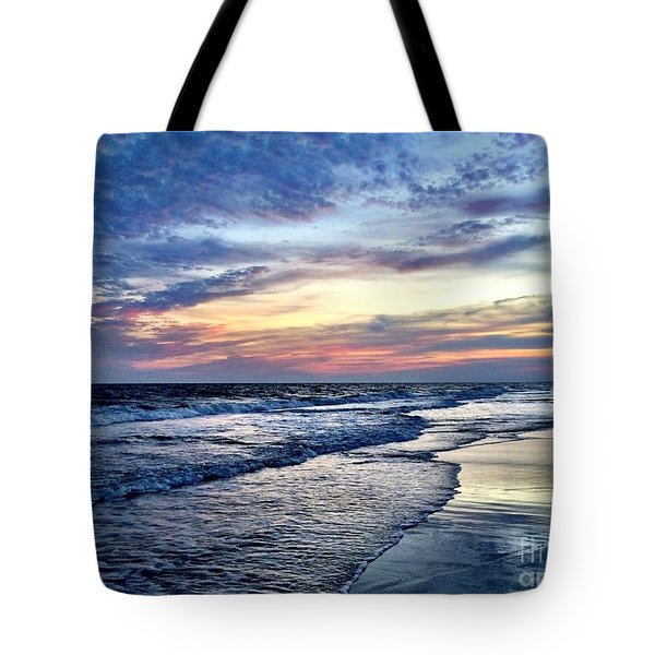 Tote Bag featuring the photograph September Sunset by Shelia Kempf