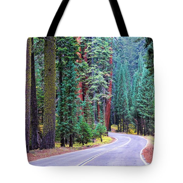 Sequoia Hwy Tote Bag
