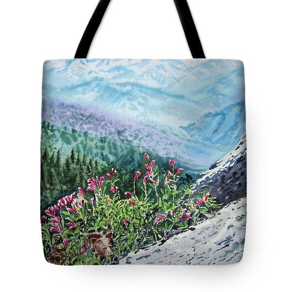 Sequoia National Park Tote Bag by Irina Sztukowski