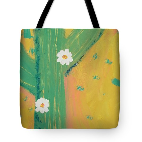 Tote Bag featuring the painting Sequoia by PainterArtist FINs daughter