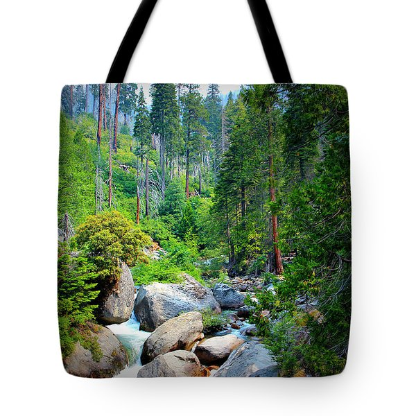 Sequoia Stream Tote Bag