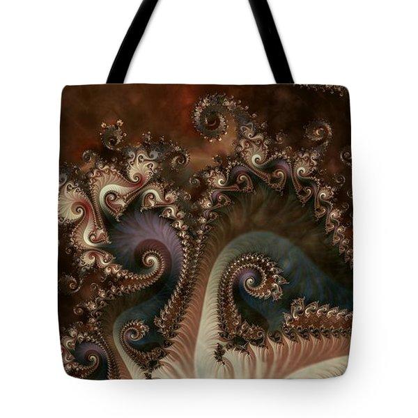 Tote Bag featuring the digital art Serenade by Kim Redd