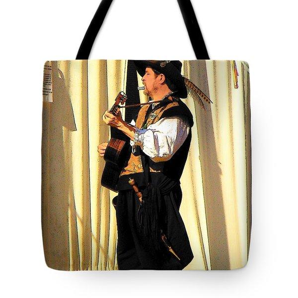 Serenade Tote Bag by Rodney Lee Williams