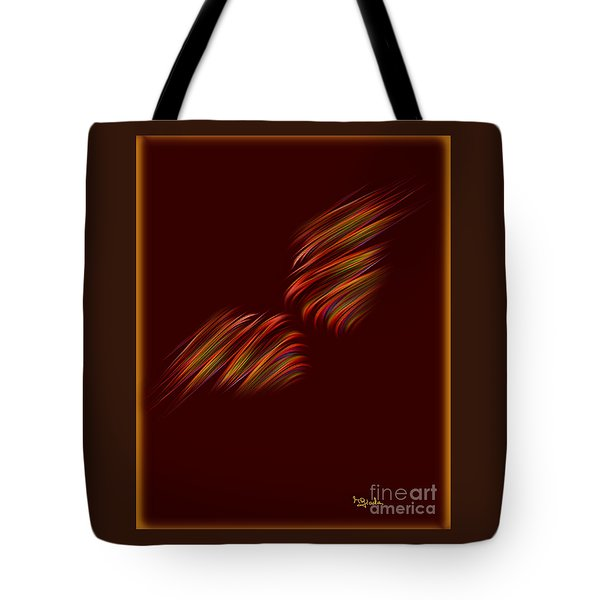 Tote Bag featuring the digital art Serendipity Art - Almost Kissing By Rgiada by Giada Rossi