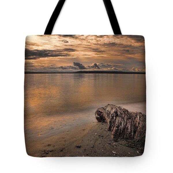 Serene Beach Tote Bag