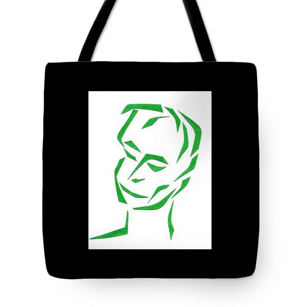 Serene Face Tote Bag