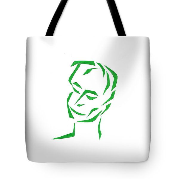 Serene Face Tote Bag