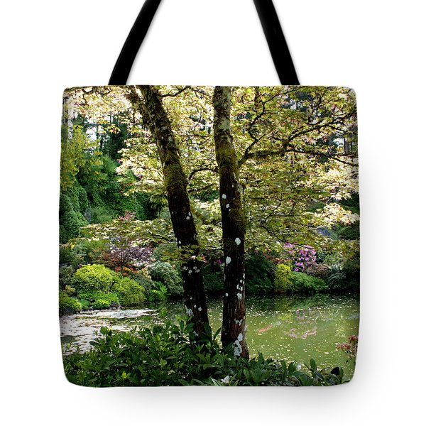 Serene Garden Retreat Tote Bag