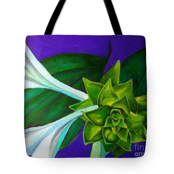 Serene Green One Tote Bag