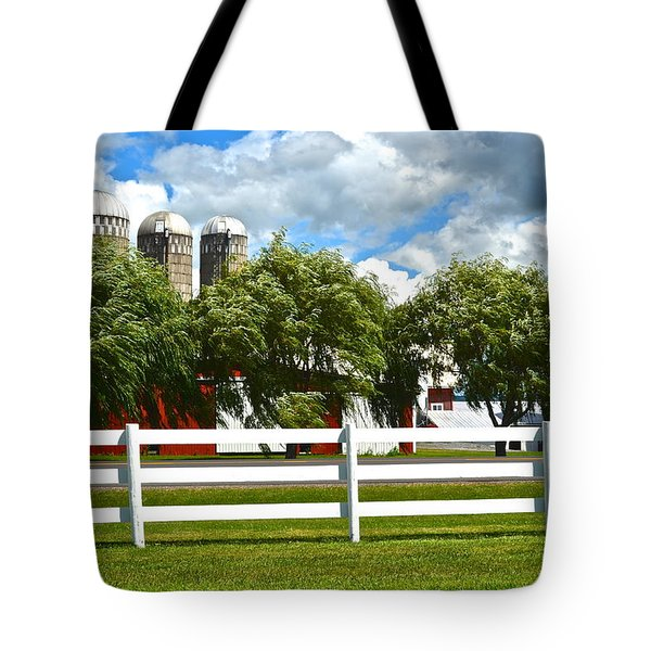 Serene Surroundings Tote Bag by Frozen in Time Fine Art Photography