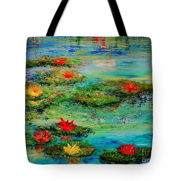 Serene Tote Bag by Teresa Wegrzyn