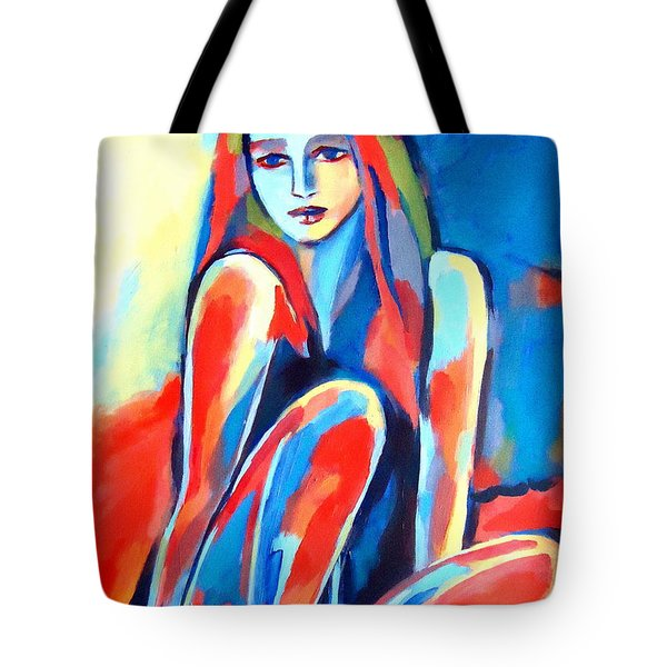 Serene Thoughts Tote Bag by Helena Wierzbicki