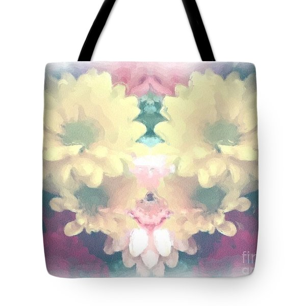Tote Bag featuring the photograph Serene Zinnias by Luther Fine Art