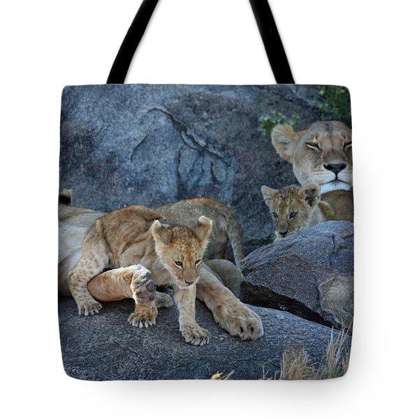 Serengeti Pride Tote Bag
