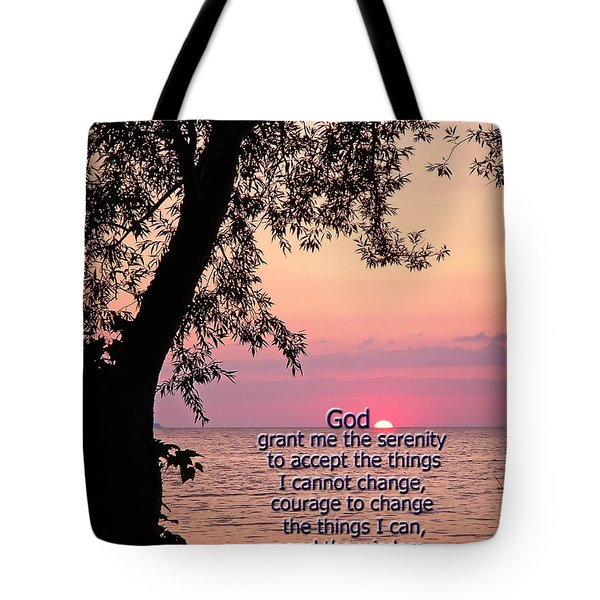 Serenity Tote Bag by Aimee L Maher Photography and Art Visit ALMGallerydotcom