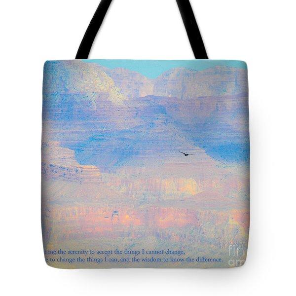 Serenity At The South Rim Tote Bag