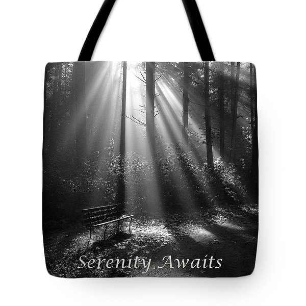 Serenity Awaits Tote Bag