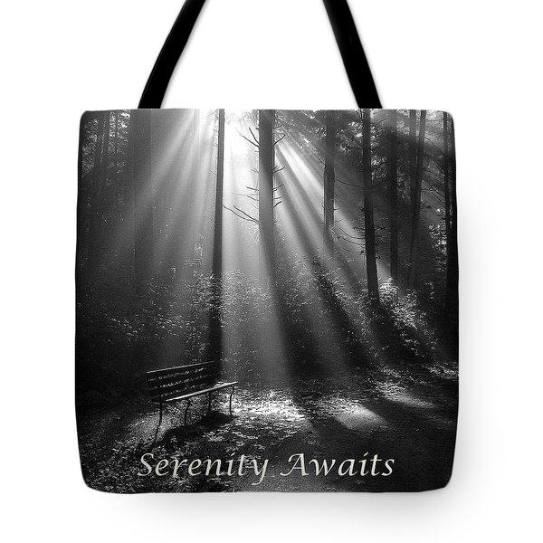 Serenity Awaits Tote Bag by Brian Chase