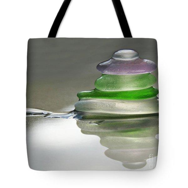 Serenity Tote Bag by Barbara McMahon