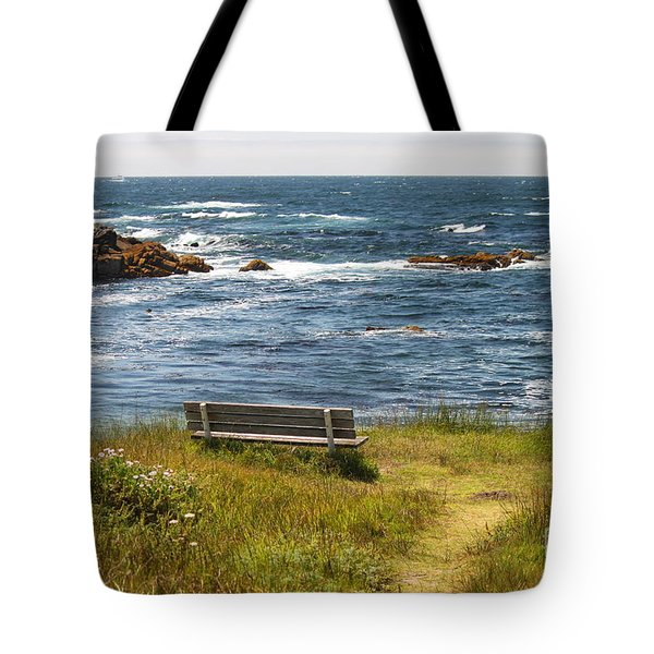 Serenity Bench Tote Bag