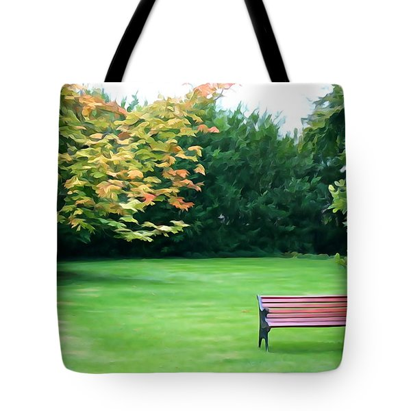 Tote Bag featuring the photograph Serenity by Charlie and Norma Brock