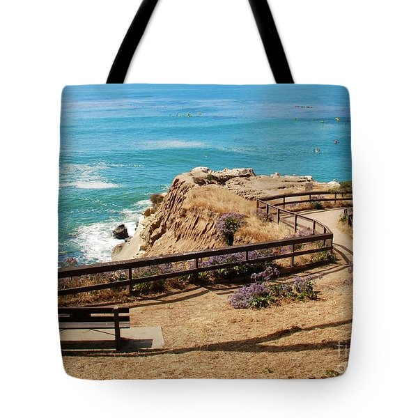 A Place To Relax Tote Bag by Claudia Ellis