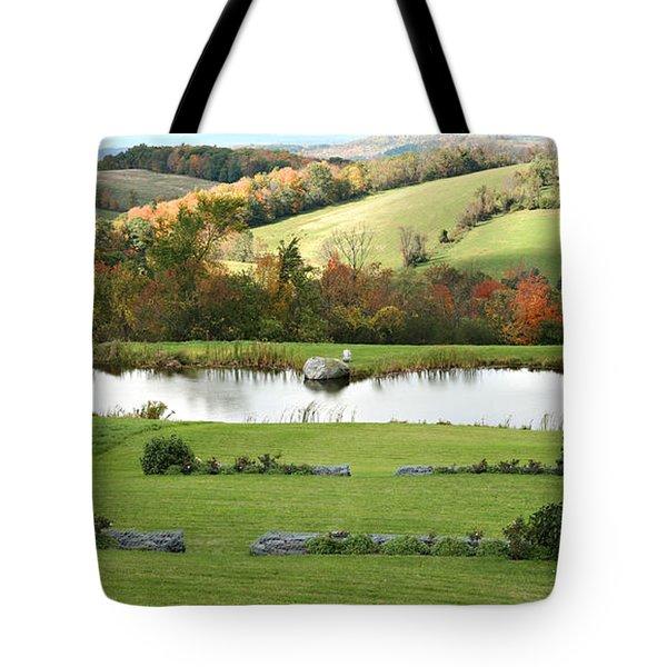 Tote Bag featuring the photograph Serenity Hill by Carol Lynn Coronios