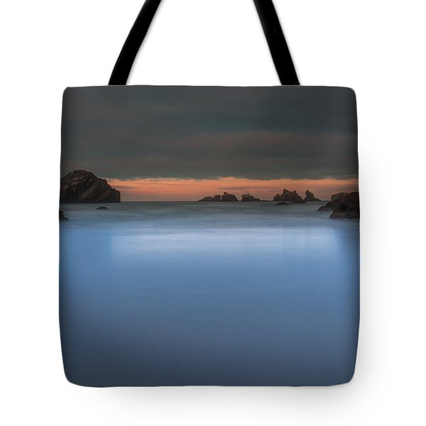 Serenity In Blue.... Bandon Tote Bag