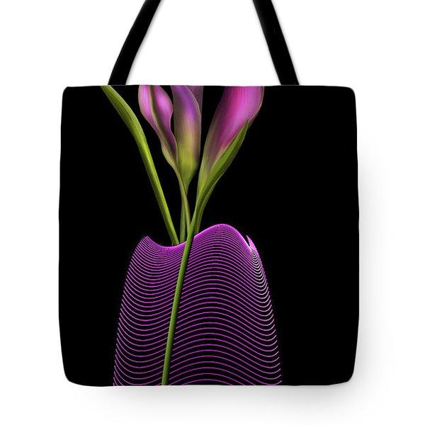 Serenity In Purple Tote Bag