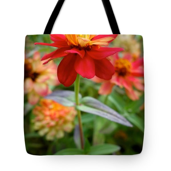 Serenity In Red Tote Bag