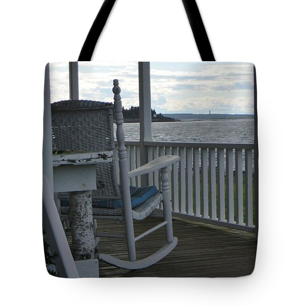 Serenity Tote Bag by Jean Goodwin Brooks