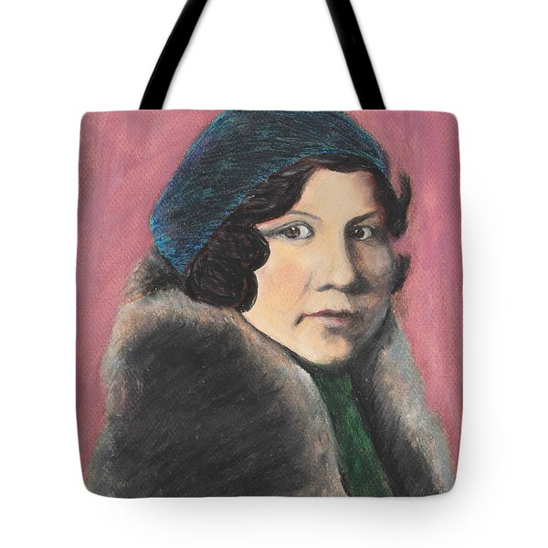 Tote Bag featuring the painting Serenity by Jeanne Fischer