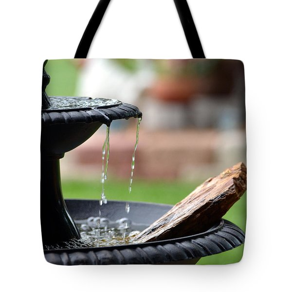 Tote Bag featuring the photograph Serenity by Linda Cox