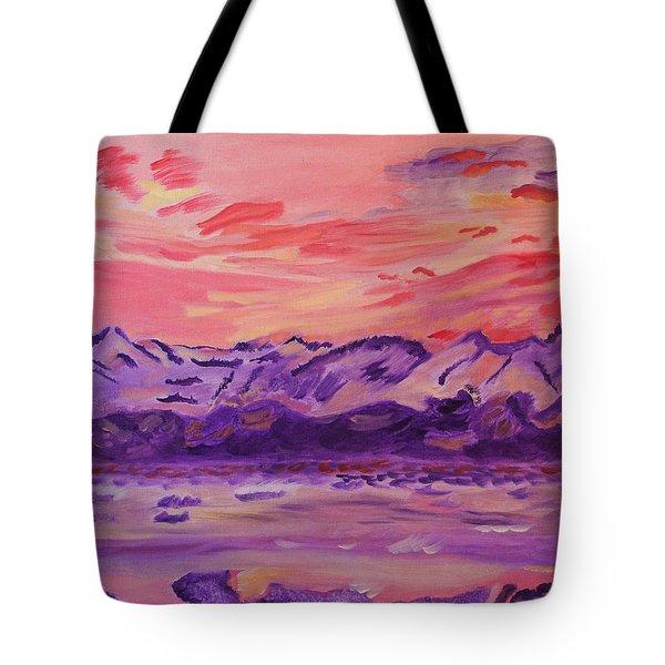 Serenity Tote Bag by Meryl Goudey