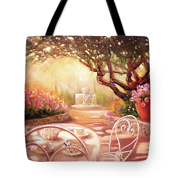 Tote Bag featuring the painting Serenity by Michael Rock
