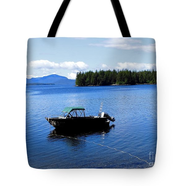 Serenity Outside Of Ketchikan Ak Tote Bag