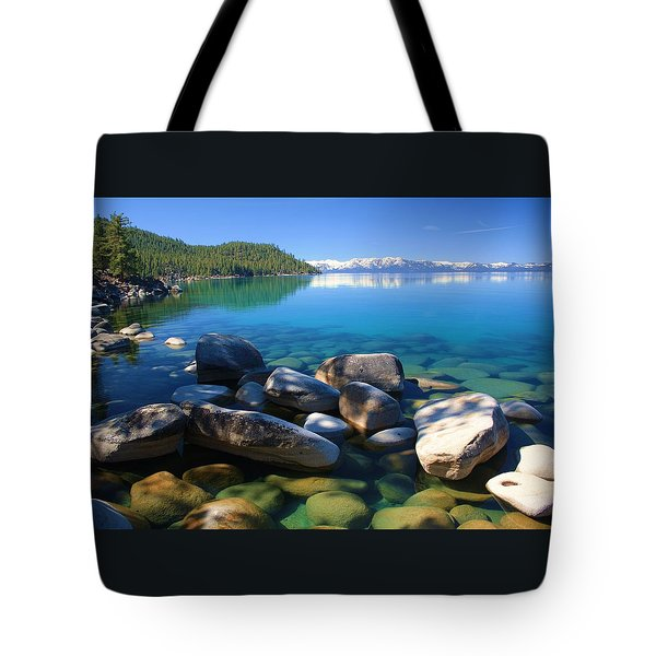 Tote Bag featuring the photograph Serenity by Sean Sarsfield