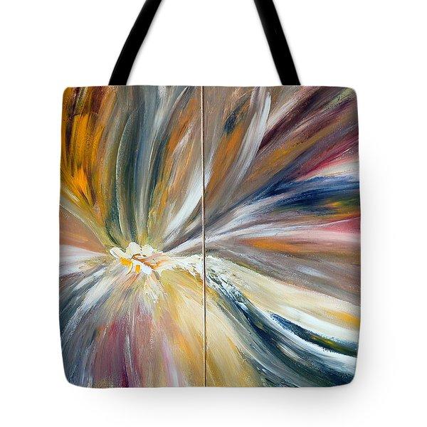 Serenity Tote Bag by Teresa Wegrzyn