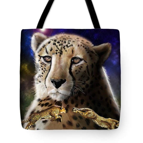First In The Big Cat Series - Cheetah Tote Bag