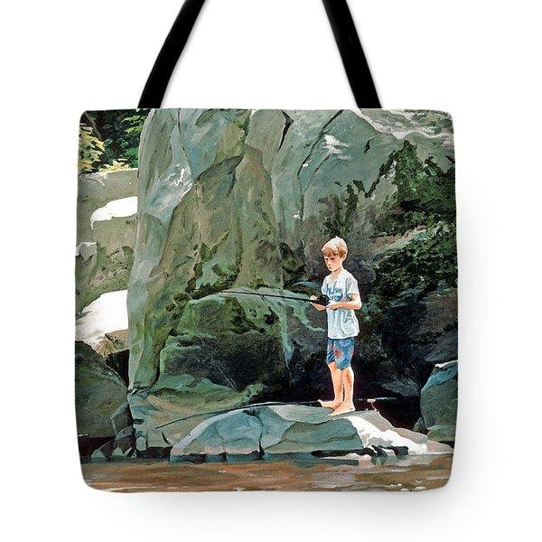 Serious Fishin' Tote Bag
