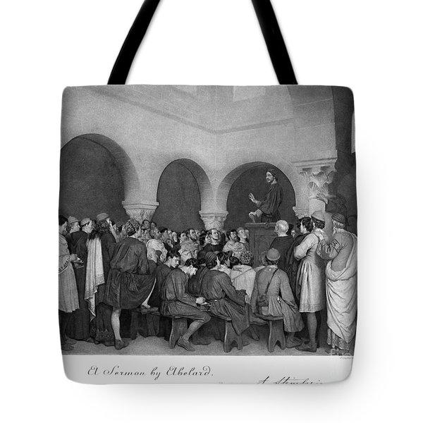 Sermon By Abelard Tote Bag by Granger