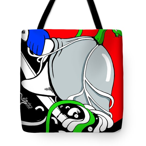 Serpent Of Time Tote Bag