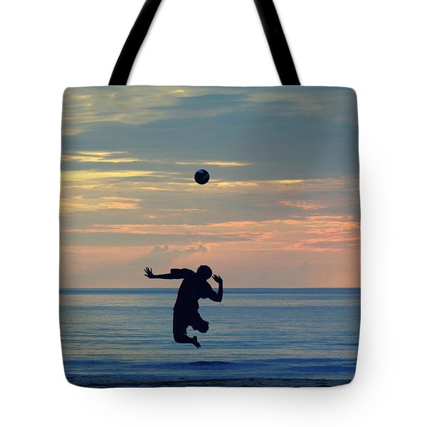 Serve's Still Up.. Tote Bag by A Rey
