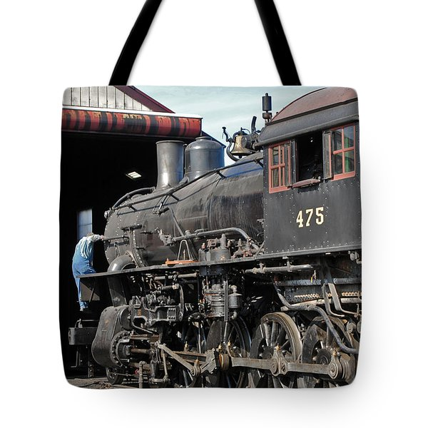 Service Station Tote Bag by Skip Willits