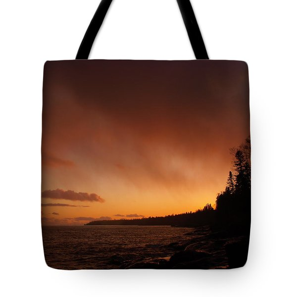 Set Fire To The Rain Tote Bag